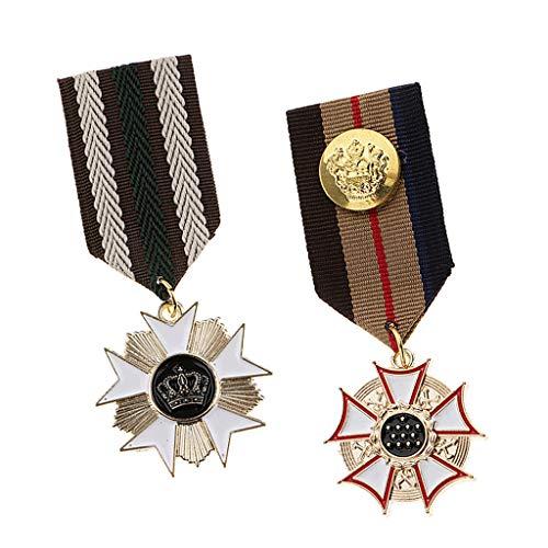 IPOTCH 2 Piezas De Medalla De Tela...