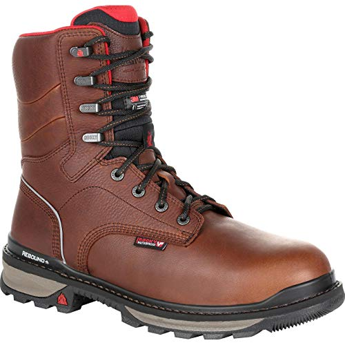 rocky water proof work boots - 7