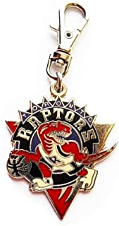 Heavens Jewelry Toronto Raptors Charm Basketball Team Charm ADD to Zipper Pull PET Dog CAT Collar TAG Leash ETC