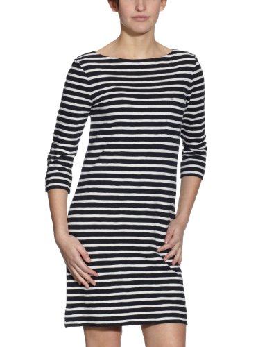 Marc O'Polo Damen Kleid (Mini), gestreift 202 4025 21121, Gr. 38 (M), Mehrfarbig (Combo D81)