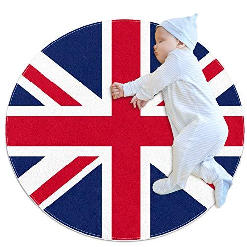 Yumansis Alfombra de cocina lavable alfombra de entrada alfombra de escritorio, alfombra de acento de baño, bandera británica Reino Unido
