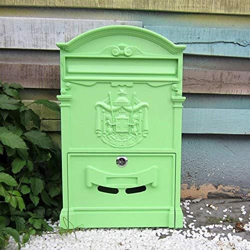 Brievenbus Aluminium Brievenbus Brievenbus Brievenbus Wandmontage Veilig Buiten Postbussen Beveiligingsmailbox