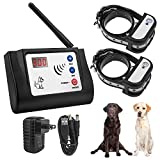 Beinhome Wireles 2 Dog Fence System Electronic Outdoor Wireless Pet...