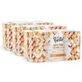 Amazon Brand - Presto! 3-Ply Quilted Toilet Tissues, 45 Rolls ( 5 x 9 x 200 sheets)- Pattern: Flower