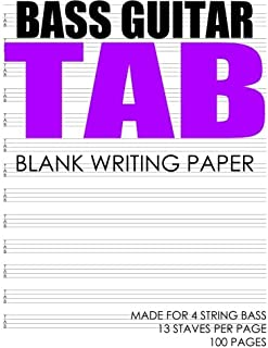 BASS Guitar Tab: Made For 4 String Bass