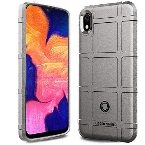 Samsung Galaxy A10E Case,Sucnakp Heavy Duty Shock Absorption Phone Cases Impact Resistant Protective Cover for Samsung Galaxy A10E Case(New Gray)