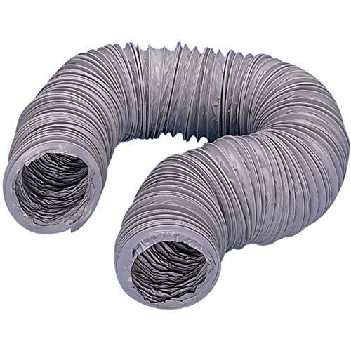 Gaine souple pvc - Diamètre : 125 mm - Longueur : 6000 mm - Décor : Gris - Matériau : PVC - UNELVENT