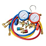 A/C Manifold Gauges Set Manifold, Gauge & Hose Set Industrial HVAC Gauges