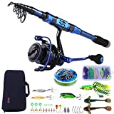 Best Spinning Rods - Sougayilang Fishing Rod and Reel Combos - Carbon Review
