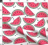 Obst, Wassermelone, Melone, Samen, Geometrisch, Frühling,