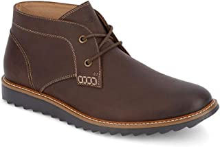 Mens Gates Leather Smart Series Dress Casual Chukka Boot Shoe