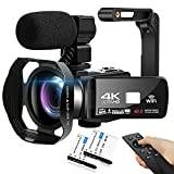 Camcorder 4K HD 48MP Video Camera...