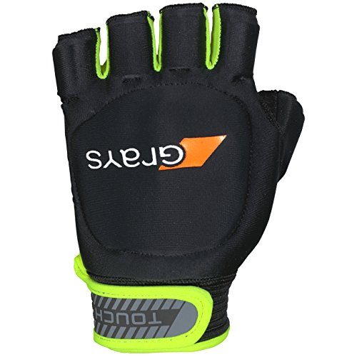 GRAYS Touch Left Handschuhe, Black/Fluo Yellow, xs