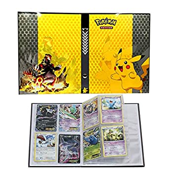 Trading Cards Album Book Best Protection Cards Binder Cards Holder Album for Pokemon - GX EX Box  Pikachu Cover