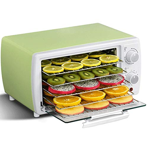 Read About CHENJIU Countertop Portable Electric Food Fruit Dehydrator Machine with Adjustable Thermo...