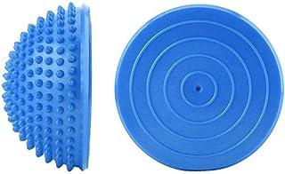 Bola de Equilibrio Media bola de yoga de punta Pelotas de masaje de pies Hedgehog Hemisphere Bola de ejercicio para hacer ejercicio físico de Pilates Entrenamiento de habilidades de equilibrio, 2PCS