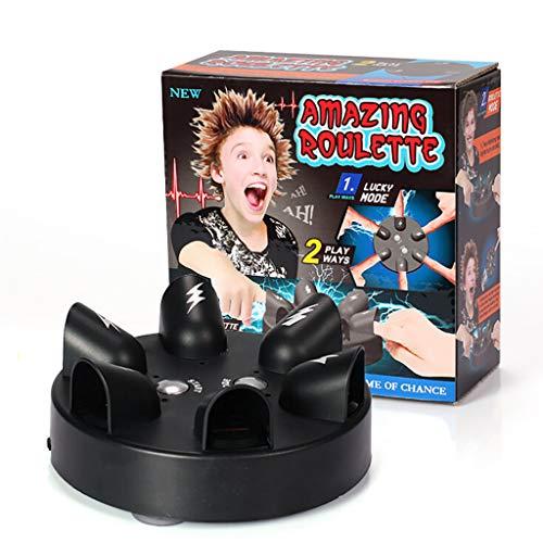 Durevole Mini Micro Shock Elettrico Lie Detector Poligrafo Test Finger Toy Truth Party Console per Truth Party Game Taidda Lie Detector
