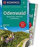 KOMPASS Wanderführer Odenwald: Wanderführer mit Extra-Tourenkarte 1:75.000, 60 Touren, GPX-Daten zum Download