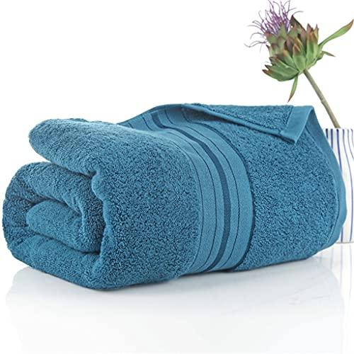 BWCGA Las toallas de baño de algodón puro aumentan las toallas de baño de algodón absorbente suave para hombres y mujeres adultos del hogar más gruesas (Color : B, Size : 90x180cm)