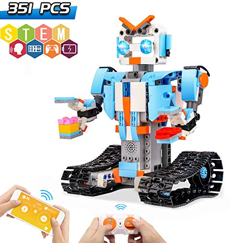 in budget affordable Seckton Building Block Robot Kit Kids Remote Control Robot Science Education …