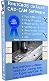 CAD-CAM CNC Mill Software for Mach 3-4, Linux CNC, EMC2, Fanuc, CNC 3040. Design your part and generate the g-code with a single easy to use software, plus many tutorial training videos included.