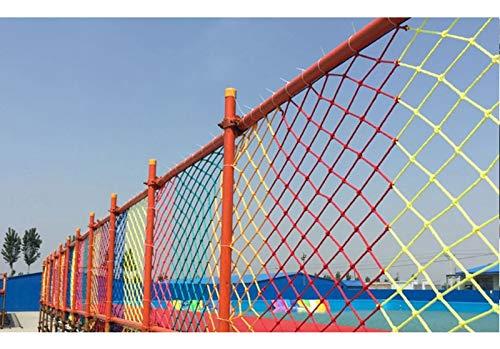 Veiligheid Outdoor Nylon bagagenet Klimmen, klimnet boom te klimmen Verrekening Playground Rope Mesh Trellis Swingset Speeltoestel grote vrachtwagen Trailer Ladder Nets (Size : 1X8M(3X26FT))