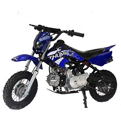 90GJ Mountain kleine Off-Road-Motorrad 125ccm Zweirad Erwachsenen High Race Doppel Veranstaltungsort Cross Country blau Geländefahren
