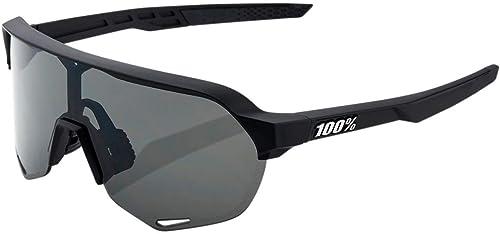 100% Sportbrille S2 Smoke Lens Soft Tact schwarz