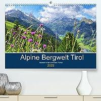 Alpine Bergwelt Tirol - Illustriert in den schoensten Farben (Premium, hochwertiger DIN A2 Wandkalender 2022, Kunstdruck in Hochglanz): Tiroler Staedte und Landschaften in Oel (Monatskalender, 14 Seiten )