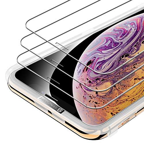 Syncwire Panzerglas für iPhone X/XS/11 Pro, 3 Stück Anti-Bläschen Panzerglasfolie 9H Festigkeit Bildschirmschutzfolie Schutzfolie, Hülle Fre&llich