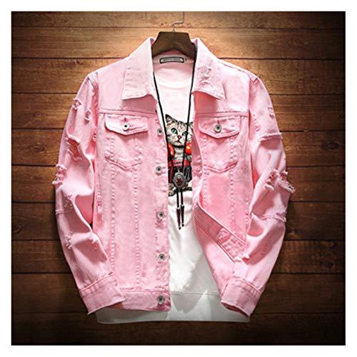 Cortavientos Casual Cortavientos Ligera al Aire li Chaqueta de Mezclilla para Hombre 3XL Moda de Moda Hip Hop Streetwer Romada Denim Jacket Male Cowboy Abrigos Nuevo Primavera Otoño