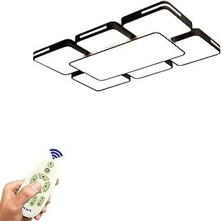 COOSNUG Plafonnier 78W Dimmable LED Lampe de Plafond Salon Avec Télécommande Applique Murale Luminaire