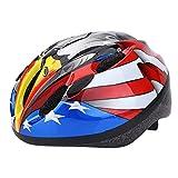 RIHE 軽量 キッズ ヘルメット 自転車 子供用 スケート ボード 安全 サイクリング 男の子 ジュニア こども用 アジャスター付き (イーグル)