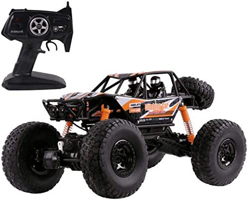 tiendas minoristas Siyushop Siyushop Siyushop Rastreador de Monster Truck RC Control Remoto, Transmisor de 2.4GHz, 1 14 4WD Off Road RC Car , Control Remoto Inalámbrico (Color   naranja)  ventas al por mayor
