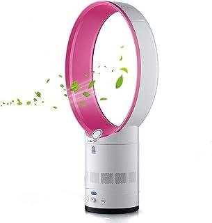 Ventilador de enfriamiento Bcamelys silencioso sin hojas, ventilador de torre oscilante con control remoto, circulador de aire con función de temporizador de sueño para el hogar, oficina, dormitorio.