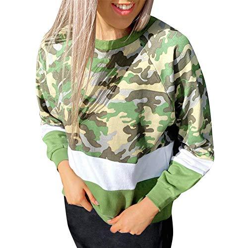 Hoodie Capucha Suéter Ropa De Mujer Sudadera De Mujer Sudadera con Capucha con Estampado De Leopardo Sudadera De Mujer con Capucha De Gran Tamaño Sudadera De Mujer-Green_S
