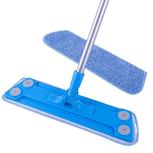 MR. SIGA Microfiber Floor Mop (Included 2 Microfiber Refills) - Size 43 x 14cm by MR. SIGA