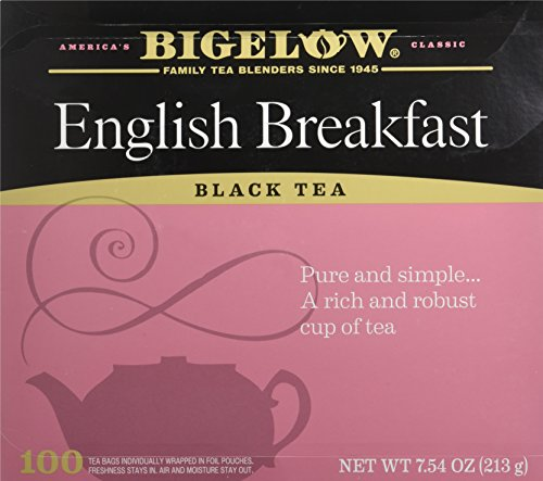 Bigelow English Breakfast Black Tea, 100 Count