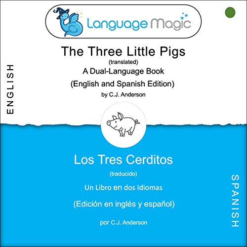 The Three Little Pigs: A Dual-Language Book  By  cover art