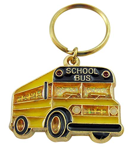 Westman Works School Bus Key Chain Driver Appreciation Key Ring Gift