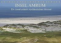 Insel Amrum - Ein Juwel unterm norddeutschen Himmel (Tischkalender 2022 DIN A5 quer): Die Insel Amrum liegt im nordfriesischen Wattenmeer und ist mit einer faszinierenden Natur eine der schoensten Inseln in der Nordsee (Monatskalender, 14 Seiten )