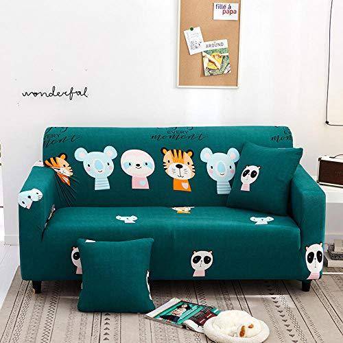 Cubierta para sofá con Cuerda de fijación,Funda de sofá elástica, funda de cojín de sofá antideslizante todo incluido, funda de protección de polvo de sofá universal para todas las estaciones-Color 7