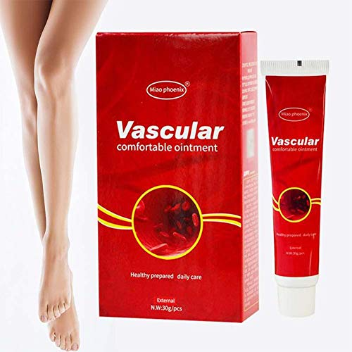 Varicose Veins Miracle Cream Ointment Vasculitis Phlebitis Spider Veins Pain Varicosity Angiitis Remedy Removal Herbal Cream 3PC