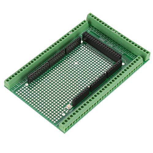 Breakout-Board-Modul, PCB Schraubklemme Block Shield Board DIY gelötet Kit, für MEGA-2560 R31Prototype Schraube und Klemmblock