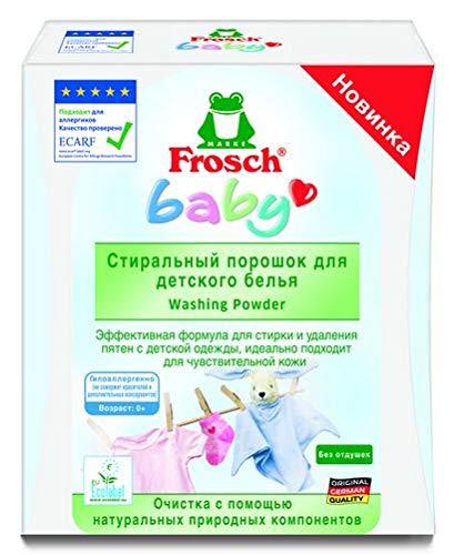 Frosch Baby Waschmittel 2x 1 KG 32 Ladungen (fremdspr. Label - deutsches Produktbeiblatt)