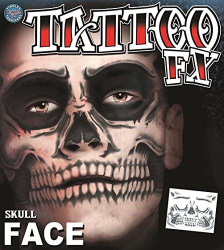 Tinsley Transfers Totenkopf-Gesicht