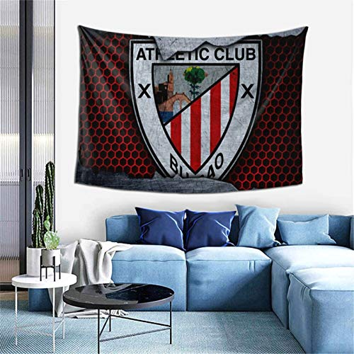 Ath-Letic Club De Bilb-Ao Bedroom Living Room Decoration Wall Hanging Tapestry Bedspread Picnic Sheets 60*40inch