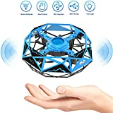 Remoukia Hand Operated Drones Toys for Kids or Adults - Mini Drones Hand Controlled Flying Ball Drone for Boys and Girls Motion Sensor...