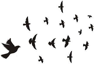 iTemer 1 set Pegatinas pared decorativas Vinilos decorativos pared dormitorio Stickers Decoracion pared Estilo único PVC Spring Aves Sala de estar