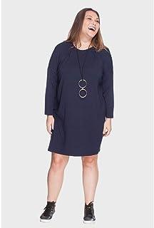 Vestido Recorte a Fio Plus Size